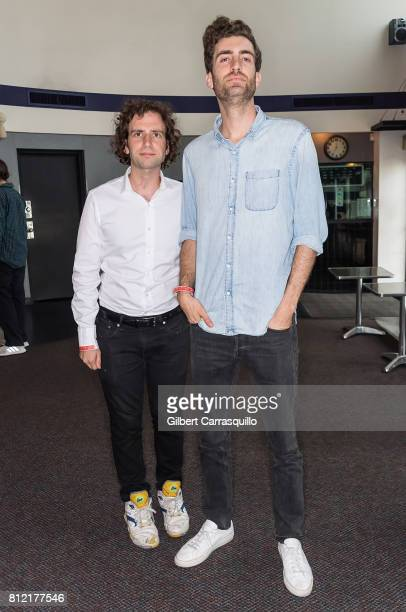 Actor/comedian Kyle Mooney and director Dave McCary attend the 'Brigsby Bear' Philadelphia Screening at Ritz Five on July 10 2017 in Philadelphia...