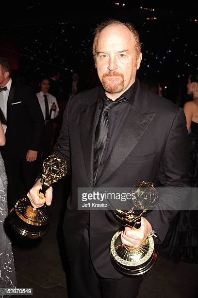 Actor/comedian Louis CK attends the 64th Primetime Emmy Awards Governors Ball at Los Angeles Convention Center on September 23, 2012 in Los Angeles,...