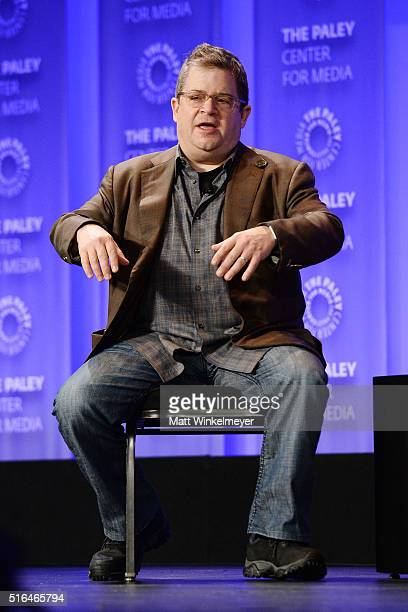 Actor/comedian Patton Oswalt attends The Paley Center For Media's 33rd Annual PALEYFEST Los Angeles 'Difficult People' at Dolby Theatre on March 18...