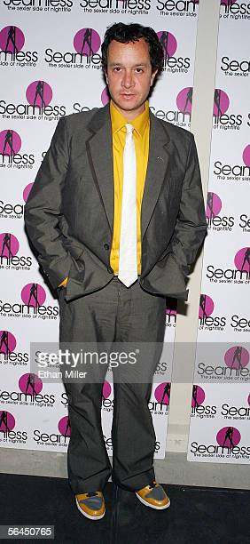 Actor/comedian Pauly Shore arrives at the grand opening of the Seamless Adult Ultra Lounge early December 18 2005 in Las Vegas Nevada