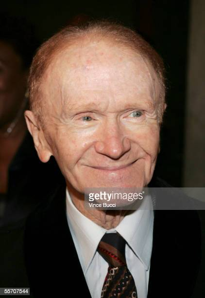 Actorcomedian Red Buttons attends the Academy of Television Arts and Sciences' reception for Emmy Award nominees for outstanding performing talent at...