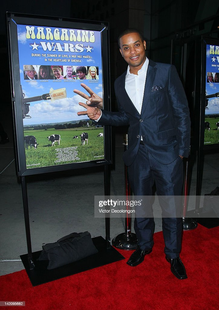 Actor/comedian Ron G arrives for the premiere of 'Margarine Wars' at ArcLight Hollywood on March 29, 2012 in Hollywood, California.