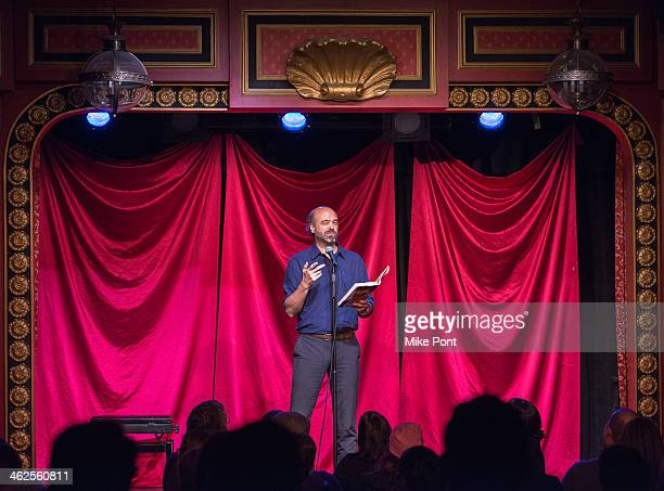 Actor/Comedian Scott Adsit performs in the 2014 Celebrity Autobiography show at Stage 72 on January 13 2014 in New York City