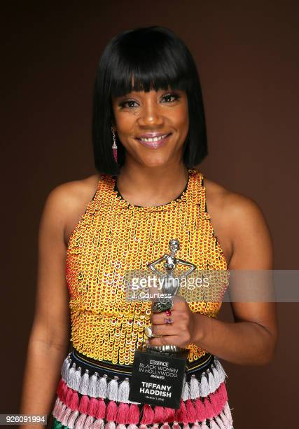 Actor/comedian Tiffany Haddish poses for a portrait at the Beverly Wilshire Four Seasons Hotel on March 1 2018 in Beverly Hills California
