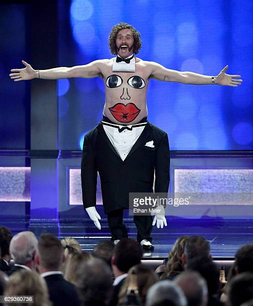 Actor/comedian TJ Miller hosts the 22nd Annual Critics' Choice Awards at Barker Hangar on December 11 2016 in Santa Monica California