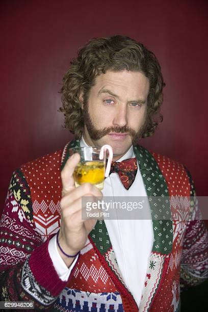 Actor/comedian TJ Miller is photographed for USA Today on December 9 2016 in New York City PUBLISHED IMAGE