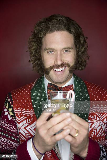 Actor/comedian TJ Miller is photographed for USA Today on December 9 2016 in New York City