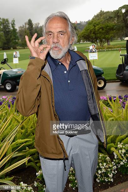 Actor/comedian Tommy Chong attends The 6th Annual George Lopez Celebrity Golf Classic To Benefit The Lopez Foundation at Lakeside Golf Club on May 6...