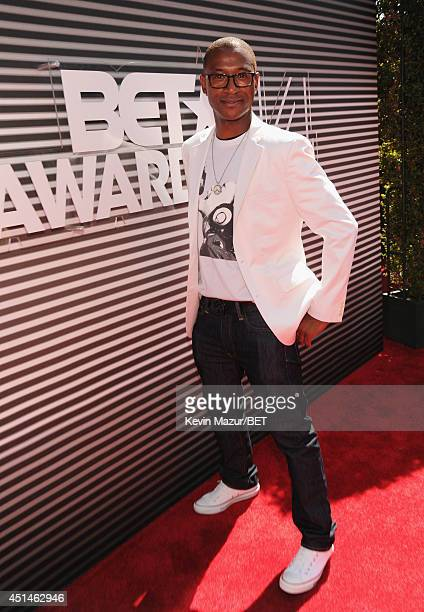 Actorcomedian Tommy Davidson attends the BET AWARDS '14 at Nokia Theatre LA LIVE on June 29 2014 in Los Angeles California
