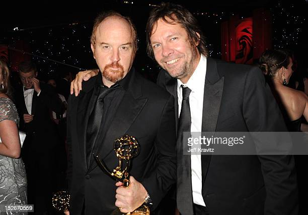 Actor/comeidan Louis CK attends the 64th Primetime Emmy Awards Governors Ball at Los Angeles Convention Center on September 23, 2012 in Los Angeles,...