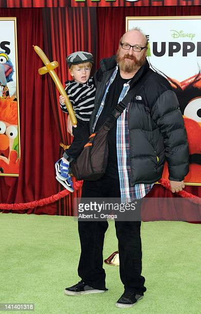 Actor/comic Brian Poeshn arrives for 'The Muppet' Los Angeles Premiere held at the El Capitan Theatre on November 12 2011 in Hollywood California