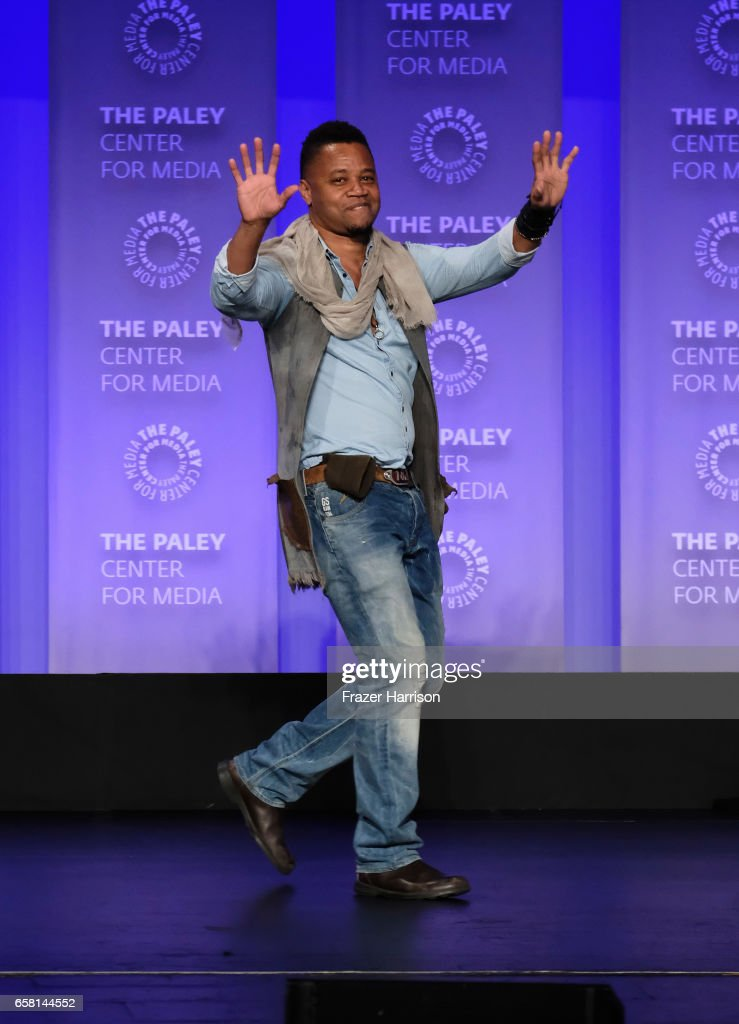 Actor,Cuba Gooding Jr. attends The Paley Center For Media's 34th Annual PaleyFest Los Angeles 'American Horror Story 'Roanoke' screening and panel at Dolby Theatre on March 26, 2017 in Hollywood, California.