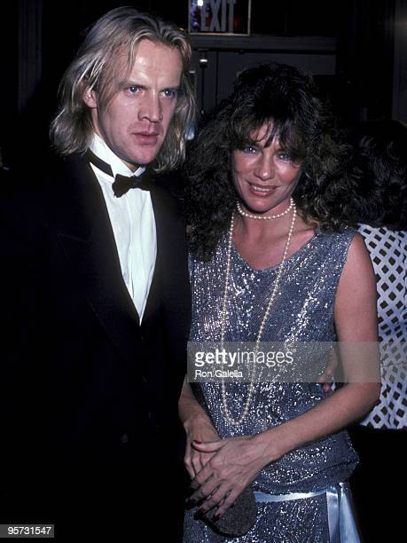 Actor/Dancer Alexander Godunov and actress Jacqueline Bisset attend the New York Friars' Club Man of the Year Award Salute to Cary Grant on May 16...