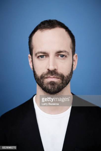 Actor/dancer Benjamin Millepied poses for a portrait at the Tribeca Film Festival on April 18 2016 in New York City