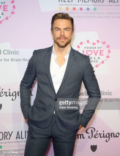"""Actor/dancer Derek Hough attends the 24th annual Keep Memory Alive """"Power of Love Gala"""" benefit for the Cleveland Clinic Lou Ruvo Center for Brain..."""