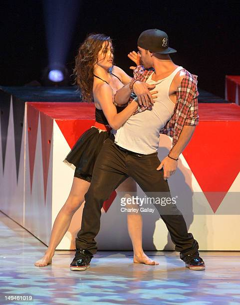 Actor/dancers Ryan Guzman and Kathryn McCormick attend the 2nd Annual Dizzy Feet Foundation's Celebration of Dance Gala at Dorothy Chandler Pavilion...