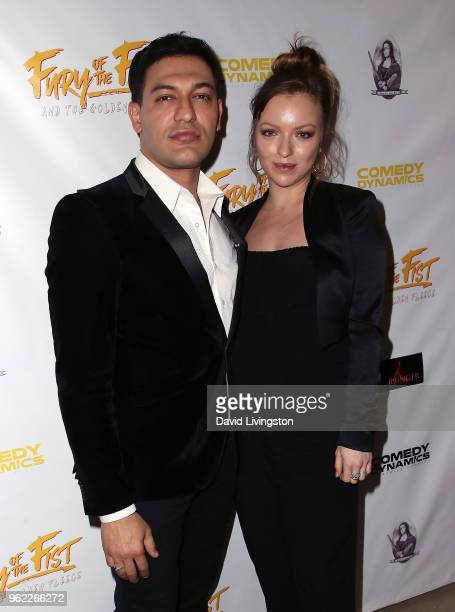 Actor/director Alexander Wraith and actress Francesca Eastwood attend the premiere of Comedy Dynamics' The Fury of the Fist and the Golden Fleece at...