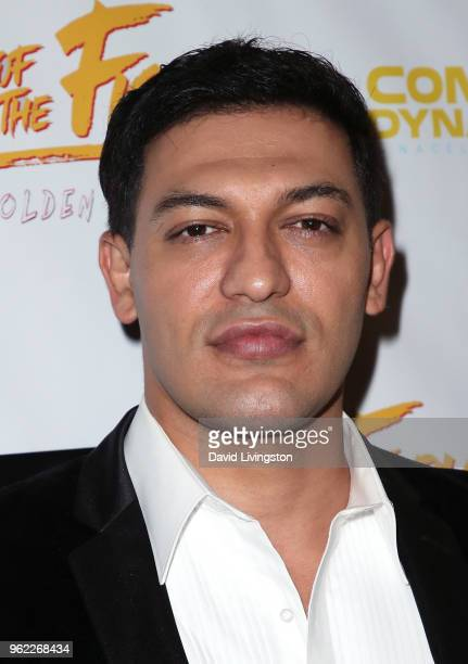 Actor/director Alexander Wraith attends the premiere of Comedy Dynamics' The Fury of the Fist and the Golden Fleece at Laemmle's Music Hall 3 on May...