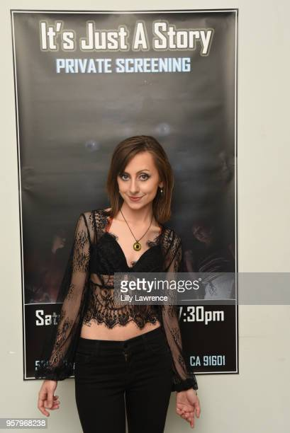 Actor/director Allisyn Ashley Arm attends world premiere of Allisyn Ashley Arm's 'It's Just A Story' at Gray Studios on May 12 2018 in Los Angeles...