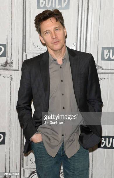 Actor/director Andrew McCarthy attends the Build series to discuss Just Fly Away at Build Studio on March 27 2017 in New York City
