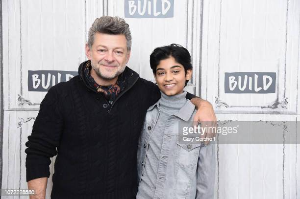 Actor/director Andy Serkis and actor Rohan Chand visit Build Series to discuss the film 'Mowgli Legend of the Jungle' at Build Studio on December 12...