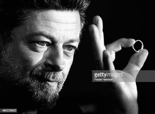 Actor/Director Andy Serkis arrives at the Premiere Of New Line Cinema MGM Pictures and Warner Bros Pictures' The Hobbit The Battle Of The Five Armies...