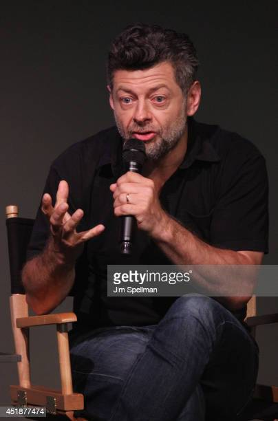 Actor/director Andy Serkis attends 'Meet The Actor' at Apple Store Soho on July 8 2014 in New York City