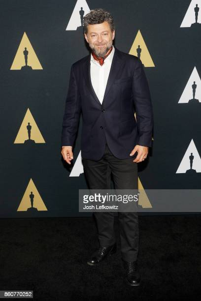Actor/director Andy Serkis attends the Academy of Motion Picture Arts And Sciences 44th Student Academy Awards at Samuel Goldwyn Theater on October...