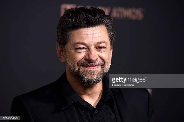 Actor/Director Andy Serkis attends the premiere of New Line Cinema MGM Pictures And Warner Bros Pictures' 'The Hobbit The Battle Of The Five Armies'...