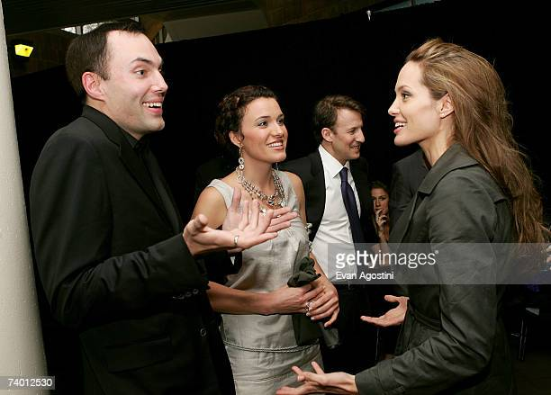 Actor/director Angelina Jolie and her brother actor James Haven attend the Tribeca Film Institute Screening of the Angelina Jolie directed film 'A...