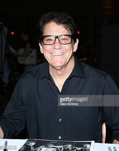 Actor/director Anson Williams attends the 14th annual official Star Trek convention at the Rio Hotel Casino on August 6 2015 in Las Vegas Nevada