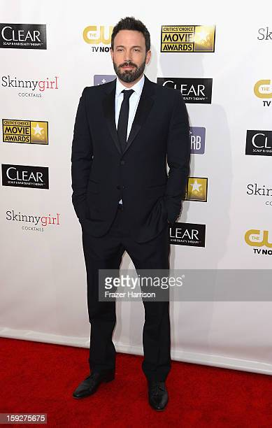 Actor/Director Ben Affleck arrives at the 18th Annual Critics' Choice Movie Awards at Barker Hangar on January 10 2013 in Santa Monica California