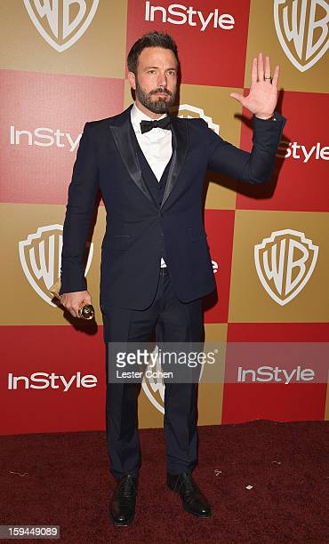 Actordirector Ben Affleck attends the 2013 InStyle and Warner Bros 70th Annual Golden Globe Awards PostParty held at the Oasis Courtyard in The...