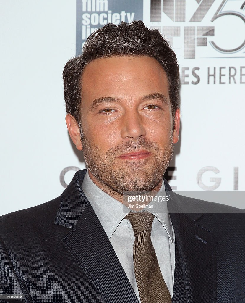 Actor/director Ben Affleck attends the 52nd New York Film Festival Opening Night Gala Presentation and World Premiere Of 'Gone Girl' at Alice Tully Hall on September 26, 2014 in New York City.