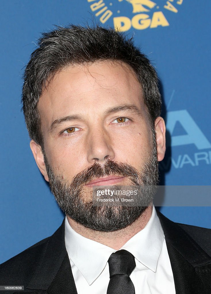 Actor/director Ben Affleck attends the 65th Annual Directors Guild Of America Awards at Ray Dolby Ballroom at Hollywood & Highland on February 2, 2013 in Los Angeles, California.