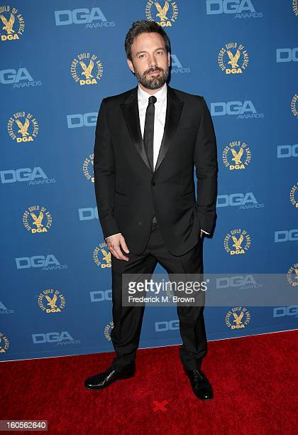 Actor/director Ben Affleck attends the 65th Annual Directors Guild Of America Awards at Ray Dolby Ballroom at Hollywood Highland on February 2 2013...