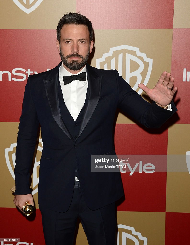 Actor-director Ben Affleck, winner of Best Director of a Motion Picture for 'Argo,' attends the 14th Annual Warner Bros. And InStyle Golden Globe Awards After Party held at the Oasis Courtyard at the Beverly Hilton Hotel on January 13, 2013 in Beverly Hills, California.