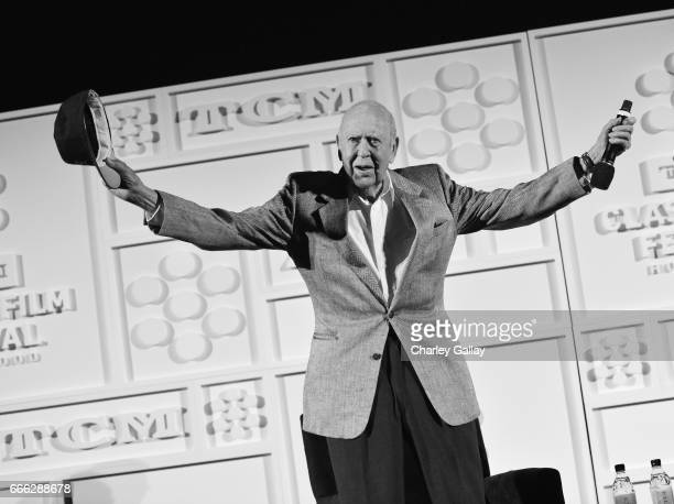 Actor/director Carl Reiner speaks onstage at the screening of 'The Jerk' during the 2017 TCM Classic Film Festival on April 8 2017 in Los Angeles...