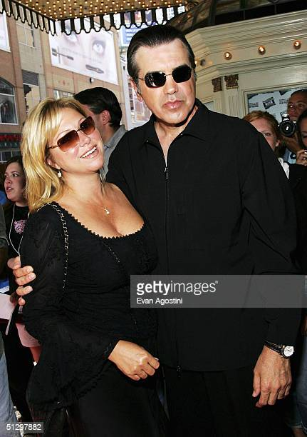 Actor/director Chazz Palminteri and wife Gianna attend a special screening of his film 'Noel' at the the Elgin Theatre during the 2004 Toronto...