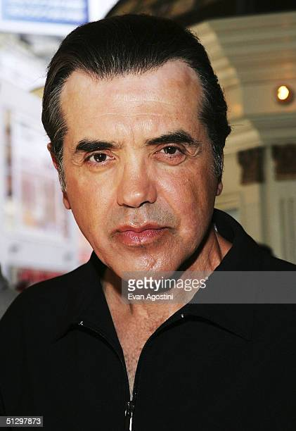 Actor/director Chazz Palminteri attends a special screening of his film 'Noel' at the the Elgin Theatre during the 2004 Toronto International Film...