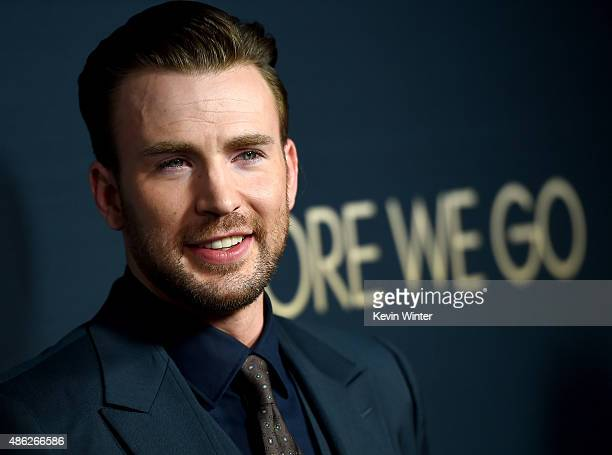 Actor/director Chris Evans arrives at the premiere of Radius and G4 Productions' Before We Go at the Arclight Theatre on September 2 2015 in Los...