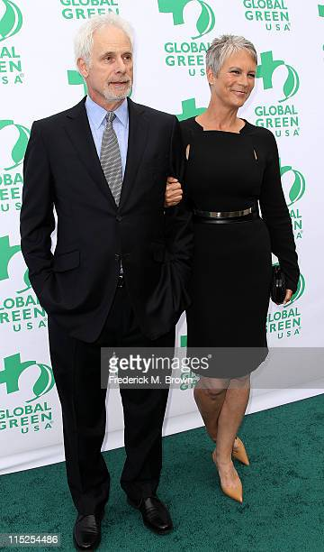 Actor/director Christopher Guest and actress Jamie Lee Curtis attend Global Green USA's 15th Annual Millennium Awards at the Fairmont Miramar Hotel...