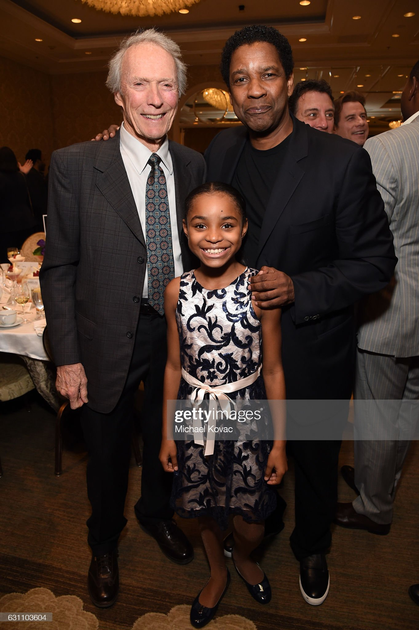 ¿Cuánto mide Denzel Washington? - Altura - Real height Actordirector-clint-eastwood-actress-saniyya-sidney-and-actordirector-picture-id631103604?s=2048x2048