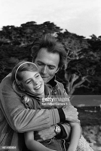 Actor/director Clint Eastwood and daughter Alison are photographed in 1982 in Carmel California CREDIT MUST READ Ken Regan/Camera 5 via Contour by...