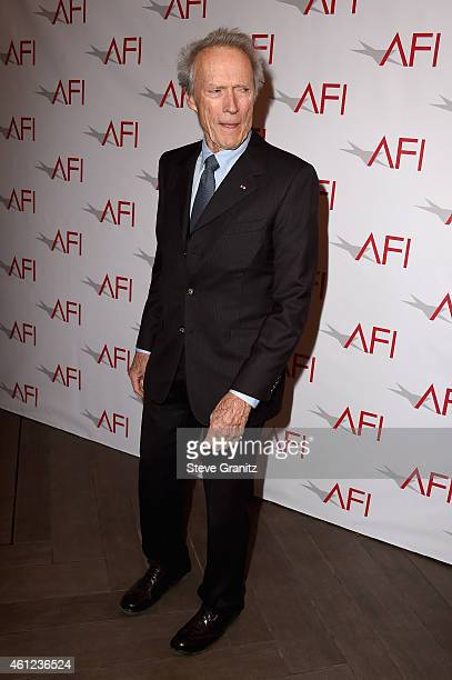 Actor-director Clint Eastwood attends the 15th Annual AFI Awards at Four Seasons Hotel Los Angeles at Beverly Hills on January 9, 2015 in Beverly...