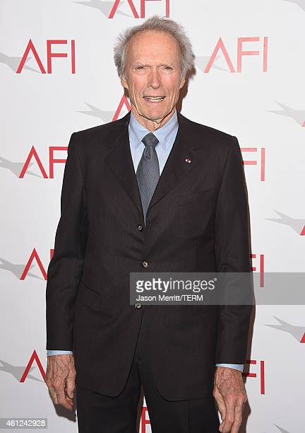 Actor/director Clint Eastwood attends the 15th Annual AFI Awards at Four Seasons Hotel Los Angeles at Beverly Hills on January 9, 2015 in Beverly...