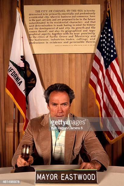 Actor/director Clint Eastwood is photographed in 1982 in Carmel California CREDIT MUST READ Ken Regan/Camera 5 via Contour by Getty