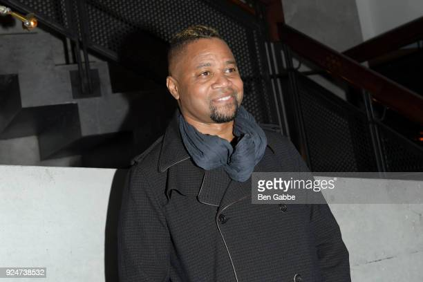 Actor/director Cuba Gooding Jr attends the after party of Louisiana Caviar hosted by Th e Cinema Society with Avion and Watchbox at The Mailroom on...