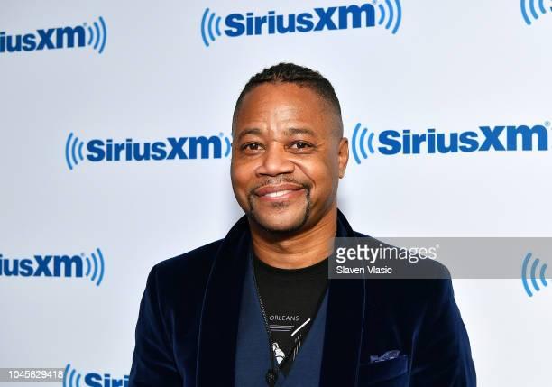Actor/director Cuba Gooding Jrvisits SiriusXM Studios on October 4 2018 in New York City