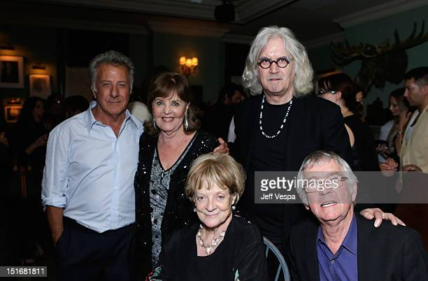 Actor/director Dustin Hoffman acctress Pauline Collins actress Maggie Smith actor Billy Connolly and actor Tom Courtenay attend The Weinstein Company...